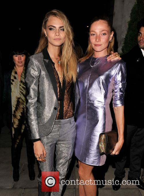 Cara Delevingne and Clara Paget 9