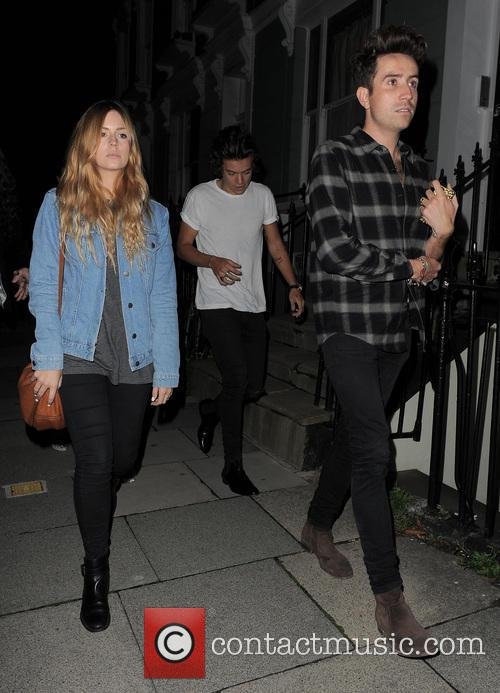Nick Grimshaw, Harry Styles and Gemma Styles