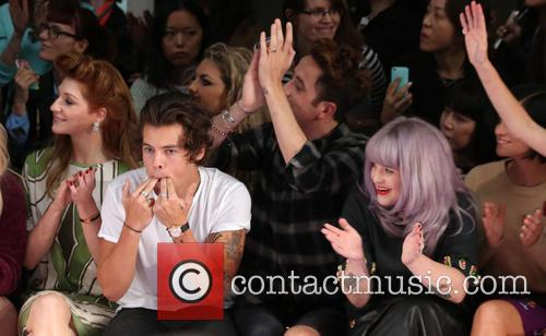 Nicola Roberts, Harry Styles, Nick Grimshaw and Kelly Osbourne 6
