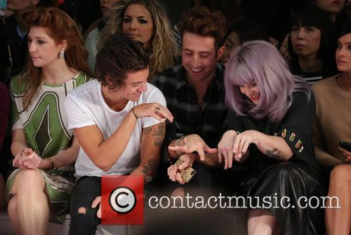 Nicola Roberts, Harry Styles, Nick Grimshaw and Kelly Osbourne 7
