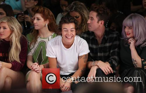 Nicola Roberts, Harry Styles, Nick Grimshaw and Kelly Osbourne 9