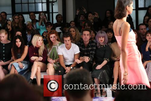 Eliza Doolittle, Ellie Goulding, Nicola Roberts, Harry Styles, Nick Grimshaw and Kelly Osbourne 3