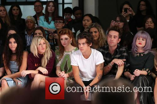 Eliza Doolittle, Ellie Goulding, Nicola Roberts, Harry Styles, Nick Grimshaw and Kelly Osbourne 7