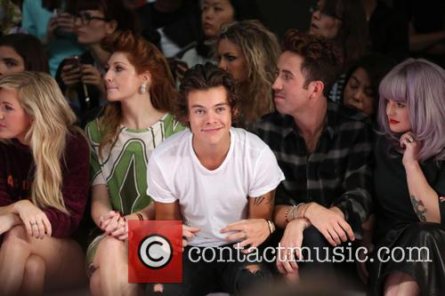 Ellie Goulding, Nicola Roberts, Harry Styles, Nick Grimshaw and Kelly Osbourne 2