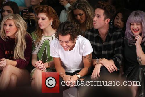 Ellie Goulding, Nicola Roberts, Harry Styles, Nick Grimshaw and Kelly Osbourne 5