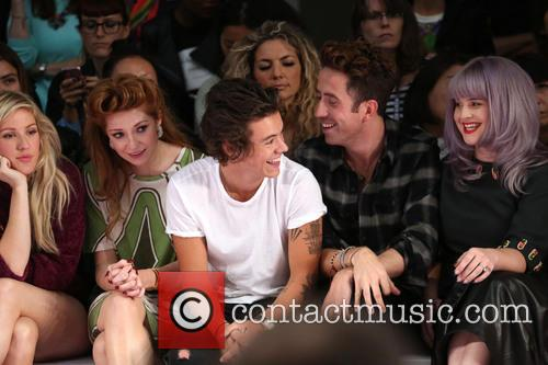 Ellie Goulding, Nicola Roberts, Harry Styles, Nick Grimshaw and Kelly Osbourne 6