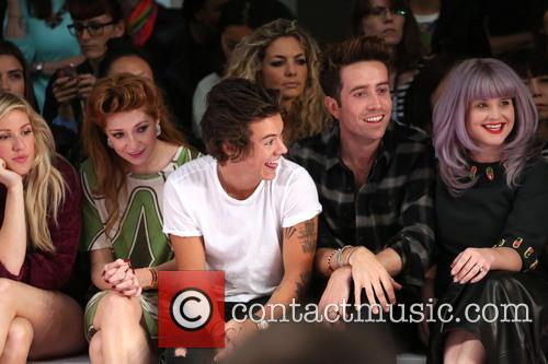 Ellie Goulding, Nicola Roberts, Harry Styles, Nick Grimshaw and Kelly Osbourne 8