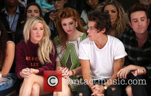 Ellie Goulding, Nicola Roberts, Harry Styles and Nick Grimshaw 4