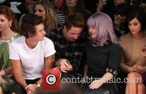 Harry Styles, Nick Grimshaw, Kelly Osbourne and Leigh Lezark 3