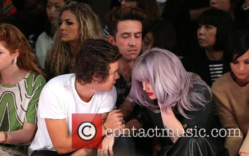 Harry Styles, Nick Grimshaw and Kelly Osbourne 2