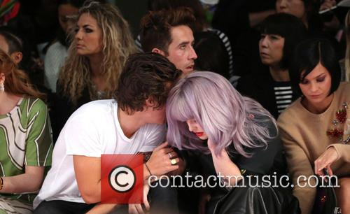 Harry Styles, Nick Grimshaw and Kelly Osbourne 1