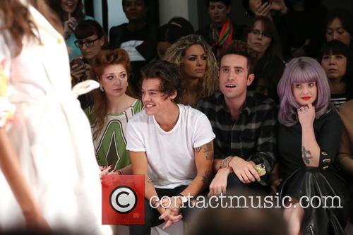 nicola roberts harry styles nick grimshaw kelly osbourne london fashion 3866596