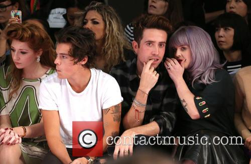 Nicola Roberts, Harry Styles, Nick Grimshaw and Kelly Osbourne 1