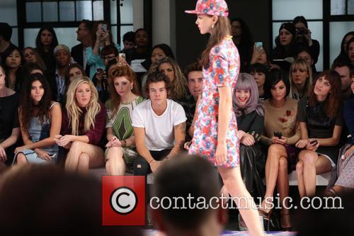 Eliza Doolittle, Ellie Goulding, Nicola Roberts, Harry Styles, Nick Grimshaw, Kelly Osbourne, Leigh Lezark, Alexa Chung and Pixie Geldof 5