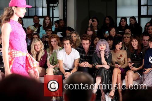 Ellie Goulding, Nicola Roberts, Harry Styles, Nick Grimshaw, Kelly Osbourne, Leigh Lezark and Alexa Chung 1