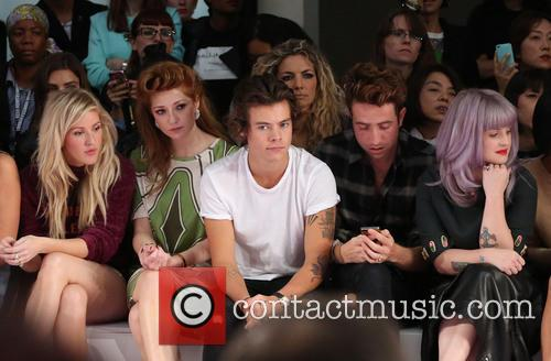 Ellie Goulding, Nicola Roberts, Harry Styles, Nick Grimshaw, Kelly Osbourne, London Fashion Week
