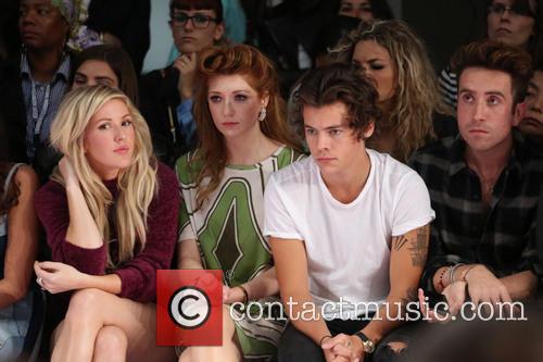 Ellie Goulding, Nicola Roberts, Harry Styles, Nick Grimshaw, London Fashion Week