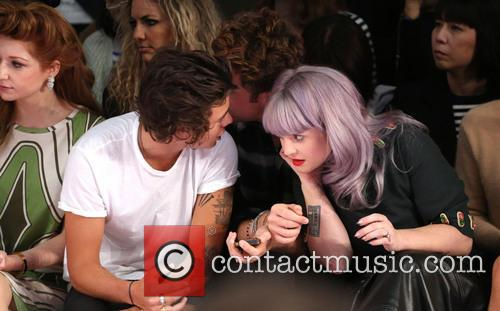 Harry Styles, Nick Grimshaw and Kelly Osbourne 6