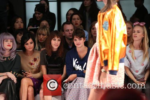 Kelly Osbourne, Leigh Lezark, Alexa Chung, Pixie Geldof and Mary Charteris 1