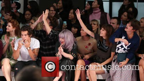 Nicola Roberts, Harry Styles, Nick Grimshaw, Kelly Osbourne, Leigh Lezark, Alexa Chung, Pixie Geldof, London Fashion Week