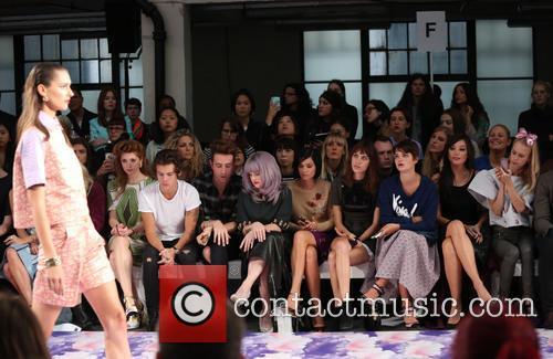 Nicola Roberts, Harry Styles, Nick Grimshaw, Kelly Osbourne, Leigh Lezark, Alexa Chung, Pixie Geldof, Daisy Lowe, Mary Charteris, London Fashion Week