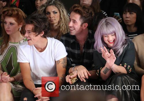 Nicola Roberts, Harry Styles, Nick Grimshaw and Kelly Osbourne 12