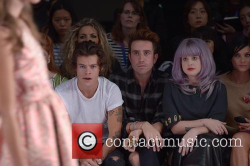 Harry Styles, Nick Grimshaw and Kelly Osbourne 7
