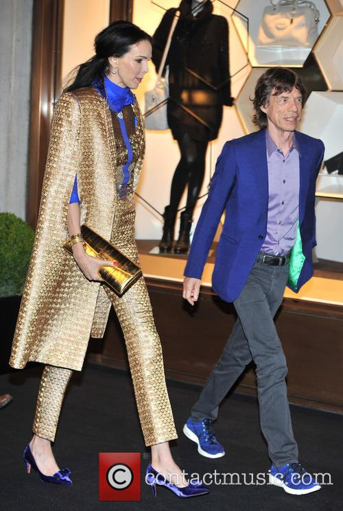 L'Wren Scott and Mick Jagger 17