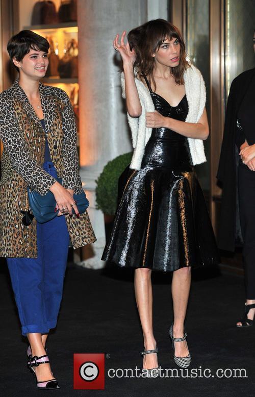 Pixie Geldof and Alexa Chung 5