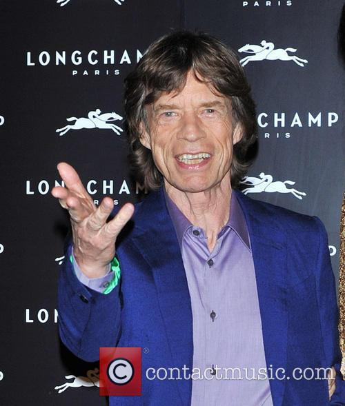 L'wren Scott and Mick Jagger 2