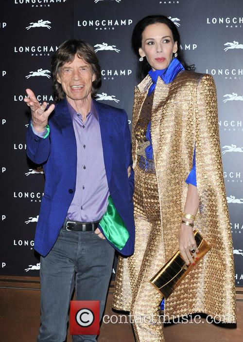 L'wren Scott and Mick Jagger 3