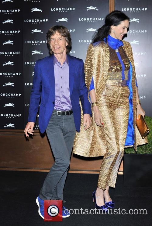 L'wren Scott and Mick Jagger 4