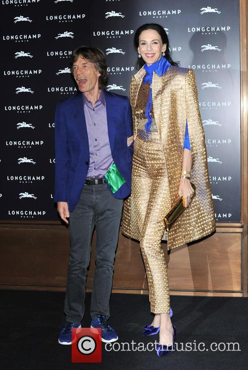 L'wren Scott and Mick Jagger 5