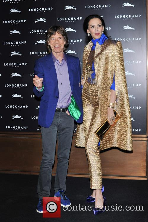 L'wren Scott and Mick Jagger 7