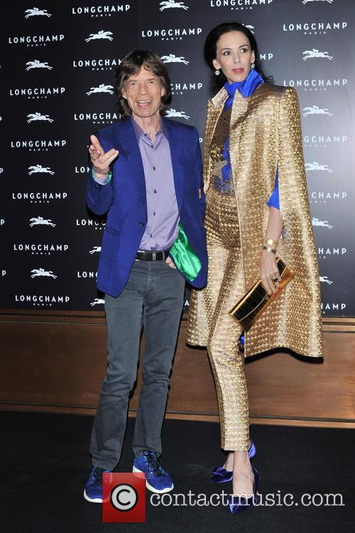 L'wren Scott and Mick Jagger 8