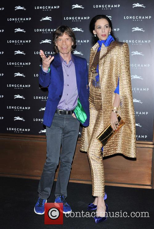 L'wren Scott and Mick Jagger 9