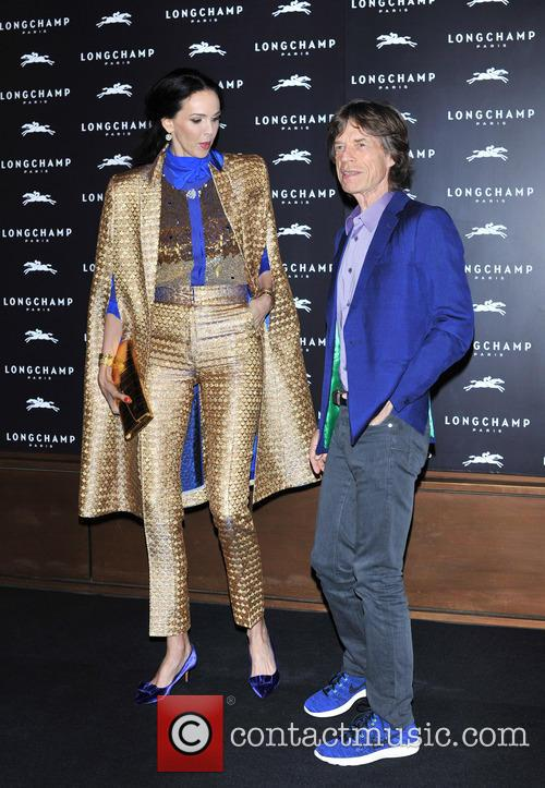 L'wren Scott and Mick Jagger 10