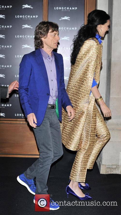 L'wren Scott and Mick Jagger 11