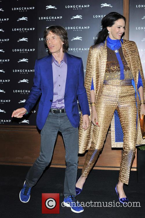 L'Wren Scott and Mick Jagger 12