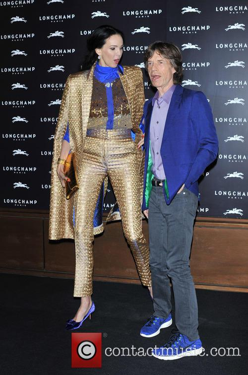 L'Wren Scott and Mick Jagger 13