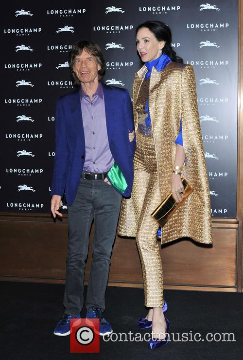 L'Wren Scott and Mick Jagger 15