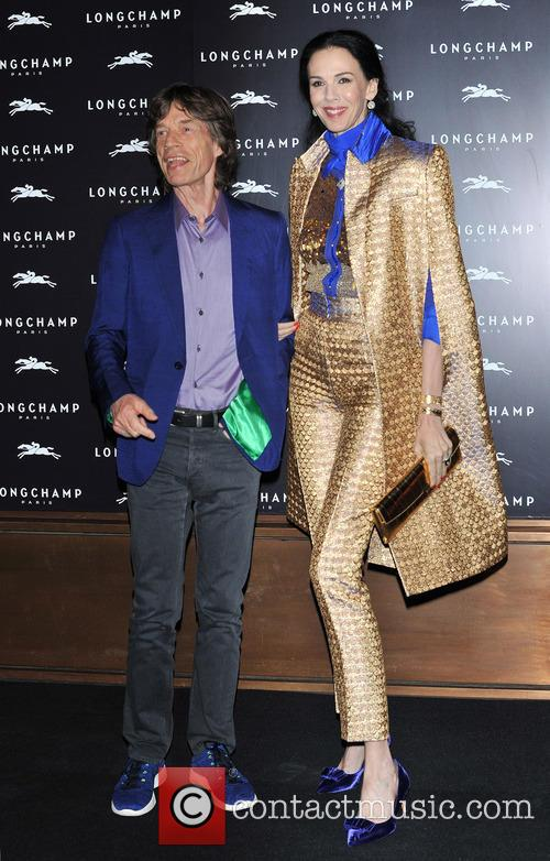 L'Wren Scott and Mick Jagger 16