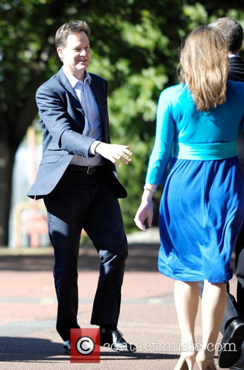 Deputy Prime Minister Nick Clegg and Jo Swinson 3