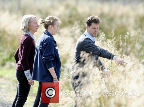 Nick Clegg, Dr Maggie Keegan and Laura Cunningham 3