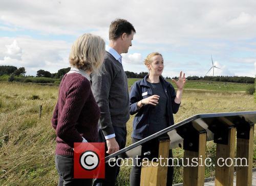 Nick Clegg, Dr Maggie Keegan and Laura Cunningham 6