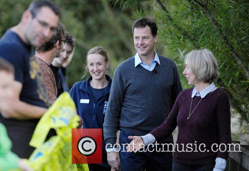 Nick Clegg, Dr Maggie Keegan and Laura Cunningham 8