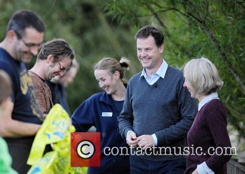Nick Clegg, Dr Maggie Keegan and Laura Cunningham 9