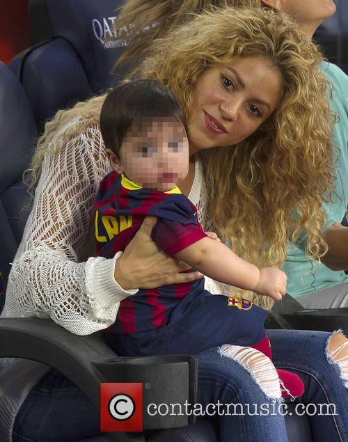 Shakira and Milan Pique Mebarak 2