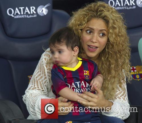 Shakira and Milan Pique Mebarak 7
