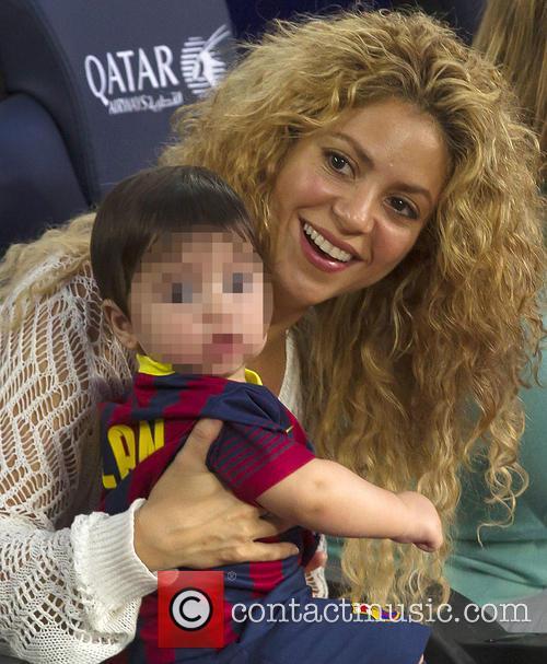 Shakira and Milan Pique Mebarak 10